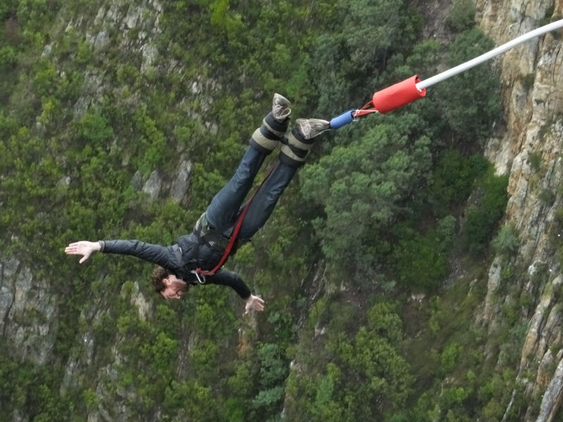 World's Highest Commercial Bungy Jump