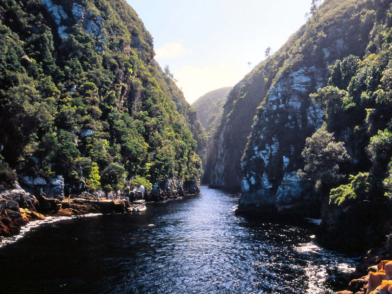 Boat trip on Storms River